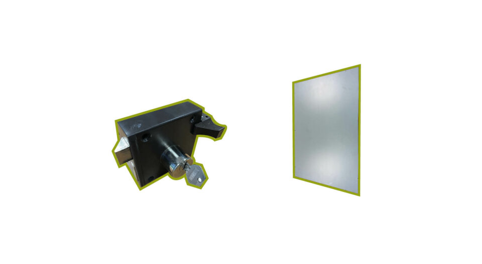 Blijvertjes slot en spiegel
